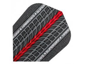 Letky SUPERGRIP standard grey/red