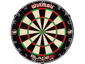 Sisalový terč BLADE 5 dartboard