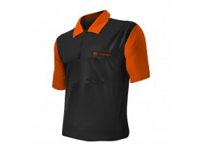 Tričko Coolplay 2 DART SHIRT HYBRID Black/Orange