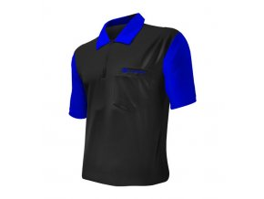 Tričko Coolplay 2 DART SHIRT HYBRID Black/Blue