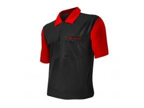 Tričko Coolplay 2 DART SHIRT HYBRID Black/Red