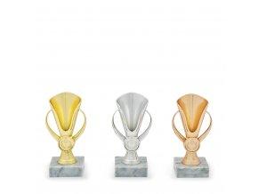 Pohár C13000 zlatý, stříbrný, bronzový
