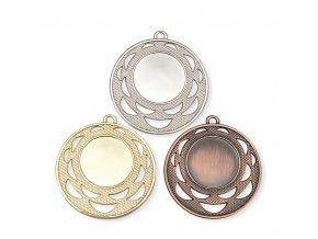 Medaile C19025 zlatá, stříbrná, bronzová