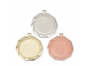 Medaile 9711 zlatá, stříbrná, bronzová