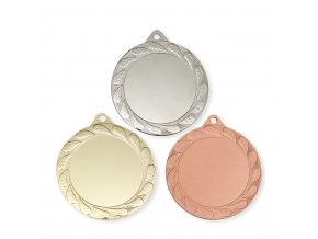 Medaile 9713 zlatá, stříbrná, bronzová