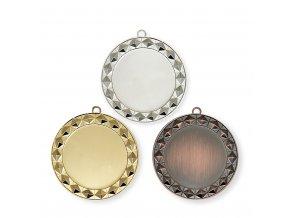 Medaile 9715 zlatá, stříbrná, bronzová