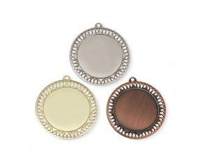 Medaile 9716 zlatá, stříbrná, bronzová