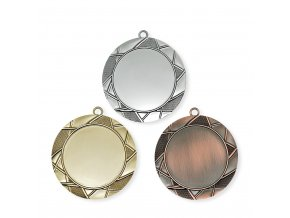 Medaile 9717 zlatá, stříbrná, bronzová