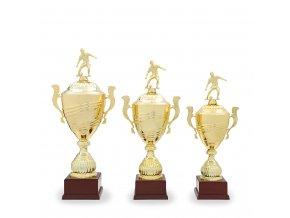 Trofej C12533 zlatá fotbal