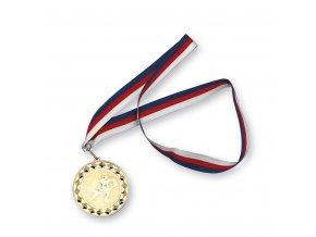 Medaile 4442 zlatá