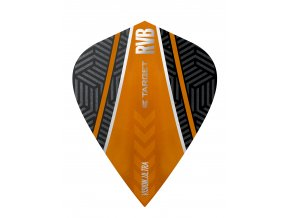 332060 RVB VISION.ULTRA BLACK ORANGE CURVE KITE
