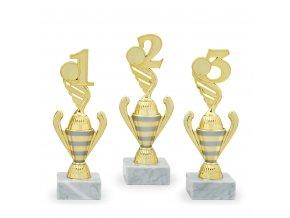 Trofej 7172 zlatá - číslice