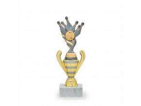 Trofej C16066 bronzová Bowling