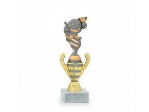 Trofej 7183 bronzová