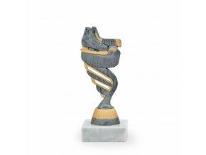 Trofej C7185 bronzová Brusle