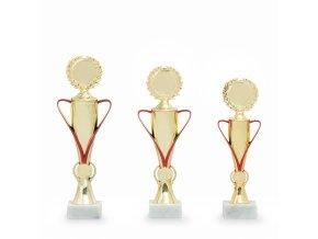Trofej 7320 zlatá/červená