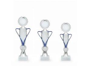 Trofej 7321 stříbrná/modrá