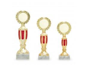 Trofej 7317 zlatá/červená