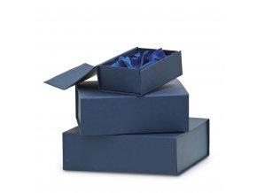 Krabička na skleněné plakety 7226 modrá