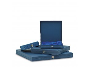 Krabička na talíře C18078 modrá