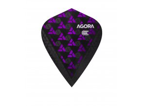 332700 AGORA ULTRA.GHOST+ KITE PURPLE FLIGHT BAGGED