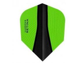 Letky RETINA standard green/black