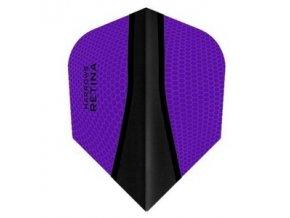 Letky RETINA standard purple/black