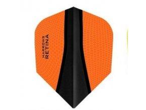 Letky RETINA standard orange/black