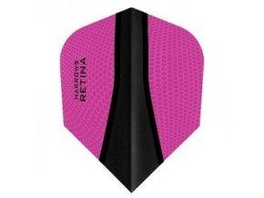 Letky RETINA standard pink/black