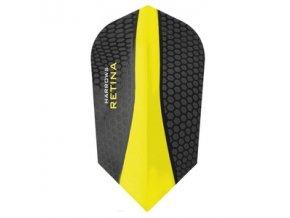 Letky RETINA slim black/yellow