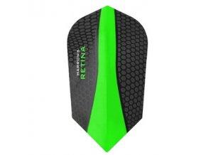 Letky RETINA slim black/green