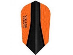 Letky RETINA slim orange/black