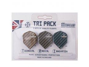 tri pack carbon