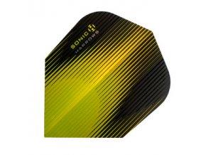 Letky SONIC standard yellow/black