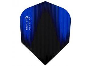 Letky SONIC standard black/blue