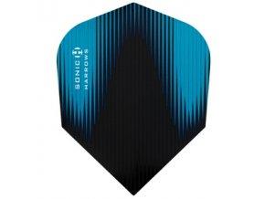 Letky SONIC standard black/aqua blue