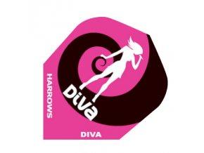 Letky DIVA standard pink/black woman