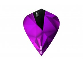 333080 SHARD ULTRA.CHROME AMETHYST KITE FLAT