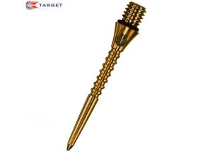 Hroty steel TITANIUM CONVERSION POINT gold GROOVED  30 mm