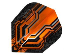 Letky PLEXUS standard No6 orange/black