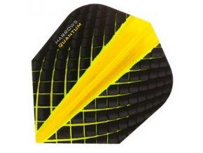 Letky QUANTUM standard black/yellow