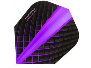 Letky QUANTUM standard black/purple
