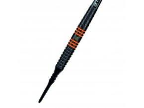 RVB80 BLACK 18G SOFT TIP DART