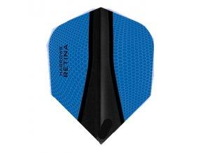 Letky RETINA standard aqua blue/black