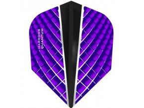 Letky QUANTUM X standard purple/black
