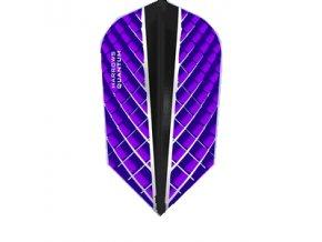 Letky QUANTUM X slim purple/black