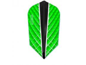 Letky QUANTUM X slim green/black