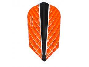 Letky QUANTUM X slim orange/black