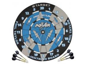 paper dart board taylor 1