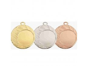 Medaile C9130 zlatá,stříbrná,bronzová